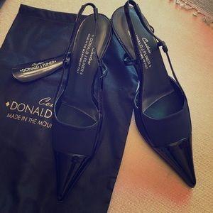 Couture Donald J Pliner Black Shoes